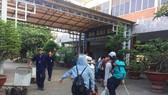At the Saigon railway station (Photo: KK)