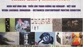 Hungarian-Vietnamese contemporary painting exhibition held in Hanoi, HCMC