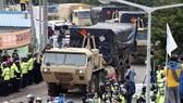 Hệ thống phòng thủ tên lửa THAAD của Mỹ riển khai ở Hàn Quốc - nguyên nhân gây căng thẳng quan hệ Trung Quốc-Hàn Quốc (nguồn: EPA)