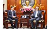 Bí thư Thành ủy TPHCM Nguyễn Thiện Nhân tiếp Chủ tịch Liên đoàn Cờ vua Thế giới