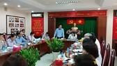 Đoàn giám sát của Ủy ban Mặt trận Tổ quốc Việt Nam TPHCM làm việc với UBND quận 7 về quản lý cơ sở mầm non ngoài công lập