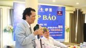 Ông Nguyễn Trọng Trúc là người đồng sáng lập giải bóng bàn Cây Vợt Vàng uy tín. Ảnh: GIANG LÊ