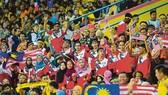 Các cầu thủ Thái Lan không ngán sợ bầu không khí cuồng nhiệt trên khán đài sân Bukit Jalil.