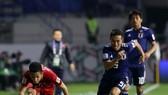 Các cầu thủ Việt Nam đã nỗ lực trong suốt 90 phút của trận đấu. Ảnh: Anh Khoa