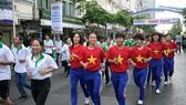 Ngày chạy Olympic năm 2019 tại TPHCM được tổ chức vào sáng 24-3.