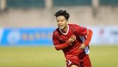 Xuân Tạo tỏa sáng với cú đúp cho đội U19 Việt Nam. Ảnh: DŨNG PHƯƠNG