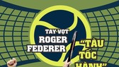 Huyền thoại Roger Federer.
