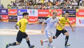 Thái Sơn Bắc hoàn toàn vượt trội trước Vietfootball. Ảnh: Anh Trầh