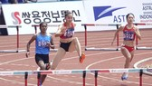 Quách Thị Lan tự tin trước khi bước vào đợt chạy chung kết.