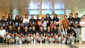BTC giải chào mừng đội tuyển U.23 Thái Lan đến tham dự. Ảnh: PHÚC NGUYỄN