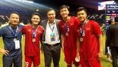 Đội tuyển Việt Nam có giải đấu thành công tại King's Cup 2019. Ảnh: Đoàn Nhật