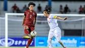 Huỳnh Như ghi bàn thắng duy nhất của trận đấu. Ảnh: thailandNT