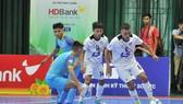 Minh Trí, tác giả bàn ấn định tỷ số 2-0 cho Thái Sơn Nam. Ảnh: Đạt Nguyễn