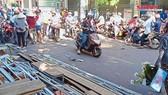 Xe Lexus biển số 6666 tông đám tang ở Bình Định: 4 người đã tử vong