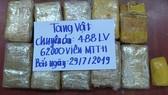 Triệt phá vụ vận chuyển 62.000 viên ma túy từ Lào về Việt Nam