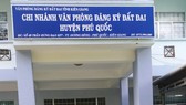 Chi nhánh Văn phòng đăng ký đất đai huyện Phú Quốc