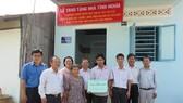 Đảng ủy khối Dân-Chính-Đảng TPHCM tặng nhà tình nghĩa cho các gia đình có hoàn cảnh khó khăn