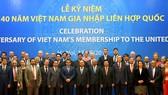 Thủ tướng Nguyễn Xuân Phúc và các đại biểu tại lễ kỷ niệm