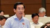 ĐB Nguyễn Văn Cảnh cho rằng giờ làm việc muộn hơn 1 tiếng so với hiện nay có nhiều cái lợi