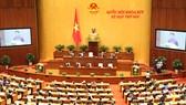 Quốc hội bầu Chủ tịch nước, chiều nay Chủ tịch nước tuyên thệ