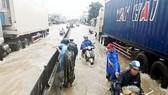 Mặt trận Trung ương thăm hỏi, hỗ trợ các nạn nhân bị thiệt hại do bão lũ