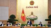Thủ tướng Nguyễn Xuân Phúc chủ trì phiên họp Chính phủ thường kỳ tháng 11-2018. Ảnh: VIẾT CHUNG