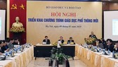 Hội nghị triển khai chương trinh giáo dục phổ thông mới vào chiều 9-1