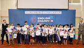 500 học sinh thi đấu loại trực tiếp tại English Champion 2019
