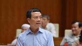 Bộ trưởng Bộ Thông tin-Truyền thông Nguyễn Mạnh Hùng. Ảnh: VIẾT CHUNG