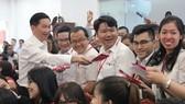 Lãnh đạo UBND TPHCM chúc tết các doanh nghiệp