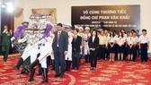 Nhiều đoàn ngoại giao đến viếng nguyên Thủ tướng Phan Văn Khải