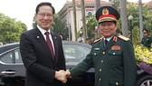 Bộ trưởng Bộ Quốc phòng Hàn Quốc ủng hộ lập trường của Việt Nam trong vấn đề Biển Đông