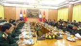Quan hệ hợp tác quân đội là trụ cột trong quan hệ hợp tác toàn diện hai nước Việt - Lào