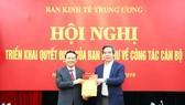 Phó Giám đốc ĐH Quốc gia Hà Nội được bổ nhiệm làm Phó Trưởng Ban Kinh tế Trung ương