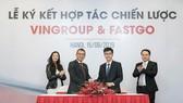 Vingroup và FastGo ký kết hợp tác chiến lược, đưa xe ô tô VinFast tham gia thị trường dịch vụ gọi xe công nghệ