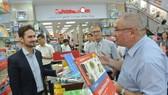 Khai trương gian hàng sách tiếng Đức lần đầu tiên tại Việt Nam