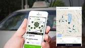 Seven taxi firms of Vietnam have developed their own car hailing applications (Photo: techz.vn)