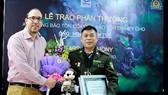 Forest ranger awarded Disney Conservation Fund