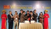 VINASA and KOVRA signed the MOU about the cooperation in the development of virtual reality technology (Photo SGGP)