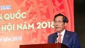 President of the Vietnam Journalists Association Thuan Huu (Source: VNA)