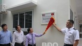 At the launching ceremony of Nhon Binh health care station (Photo: baobinhdinh.vn)