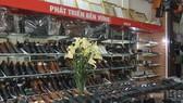 A footwear store in Hanoi's Phu Xuyen district (Source: VNA)