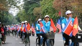 A procession was held in Hanoi on February 25 to disseminate the municipal authorities' call on the locals to demonstrate their civilized way of life ahead of the DPRK-USA Hanoi Summit Vietnam, thus promoting Hanoi's image to international friends (Source