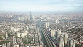 A aerial view of HCMC (Photo: SGGP)