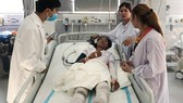 Vietnamese doctors save three seriously-burnt Cambodians