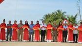 Inauguration of $ 3.6 million freshwater reservoir in Ben Tre