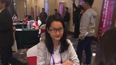 Vo Thi Kim Phung at London Chess Classic 2017 (Photo:Kim Phung)