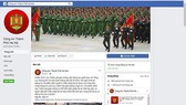 Hanoi City Police receives public complaints via www.facebook.com/CongAnThuDo