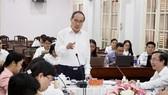Bí thư Thành ủy Nguyễn Thiện Nhân: Đánh giá sự hài lòng phải gắn với thu nhập tăng thêm