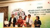 Ký kết hợp tác giữa 4 bên doanh nghiệp, tỉnh thành, Hội doanh nghiệp Hàng Việt Nam chất lượng cao và Ban quản lý ATTP
